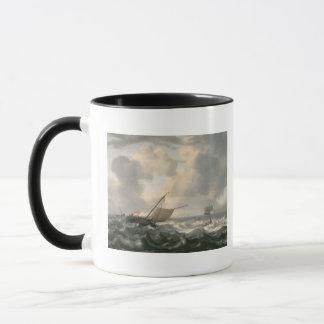 Mug Bateaux sur une mer variable