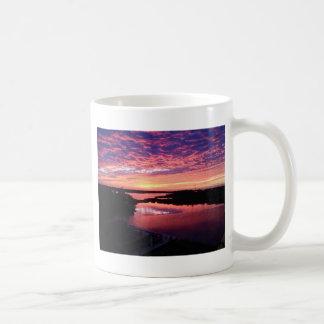 Mug Beau coucher du soleil de la Louisiane