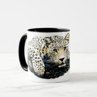 Mug Beau graphique de léopard