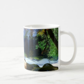 Mug Beau paysage de jungle de cascade