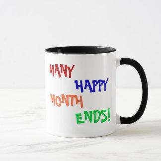 Mug Beaucoup de fins du mois heureuses !