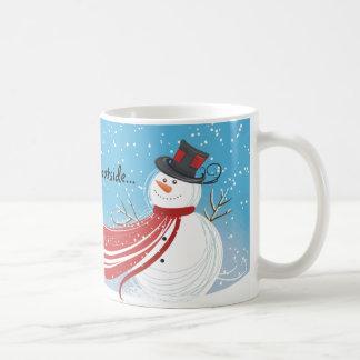 Mug Bébé, c'est bonhomme de neige extérieur froid