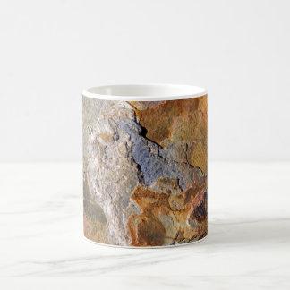 Mug Bel abrégé sur riche extérieur roche de tonalités