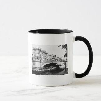Mug Belle-Alliance jettent un pont sur, Berlin, c.1910