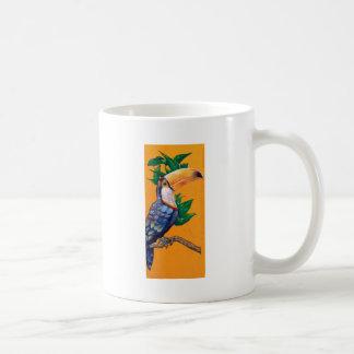 Mug Belle peinture d'oiseau de toucan
