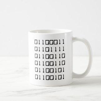 Mug Binaire ringarde de café