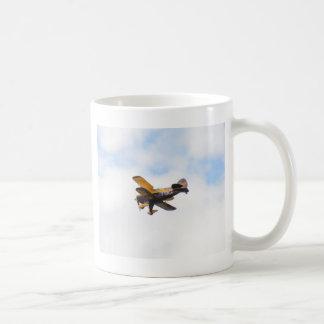 Mug Biplan acrobatique aérien en vol