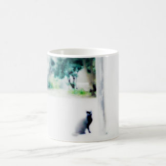 Mug blanc de chat de Venise