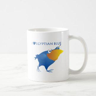 Mug Bleu égyptien de coeurs d'AnimArArA