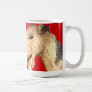 Mug Bloc de couleur de région des lacs Terrier