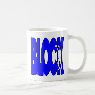 Mug BLOC de VB, bleu