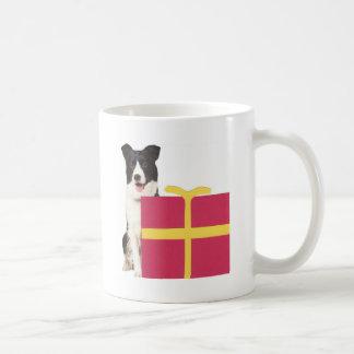 Mug Boîte-cadeau de border collie