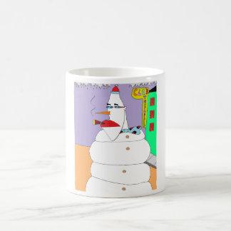 Mug Bonhomme de neige de la ville haute