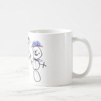 Mug Bonhomme de neige et famille