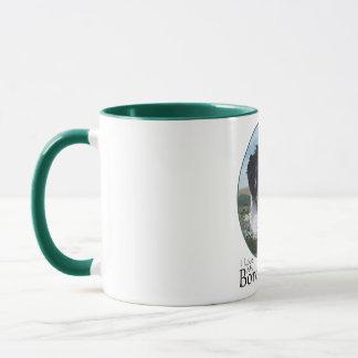 Mug Border collie au travail