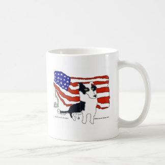 Mug Border collie pour le président