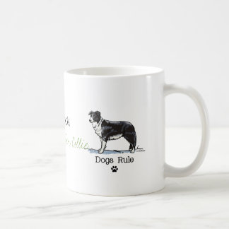 Mug Border collie - règle de chiens