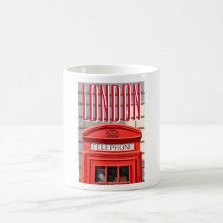 Mug Botte rouge de téléphone à Londres