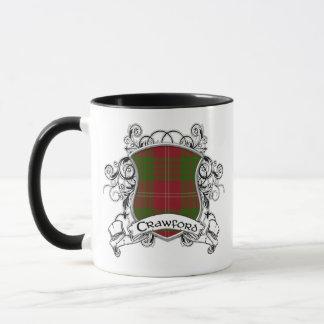 Mug Bouclier de tartan de Crawford