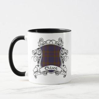 Mug Bouclier de tartan d'Elliot