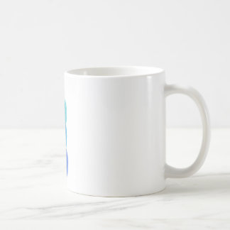 Mug boules empilées de fil bleu
