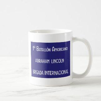 Mug Brigades internationales Abraham Lincoln ęr