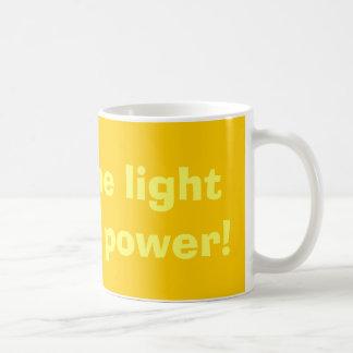 Mug Brillez la lumière sur l'énergie solaire !
