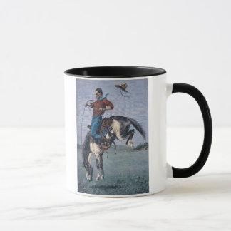 Mug Bronco-Type (gravure colorée)