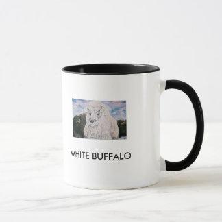 MUG BUFFLE BLANC