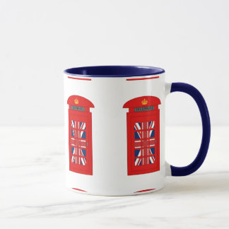 Mug Cabine téléphonique britannique