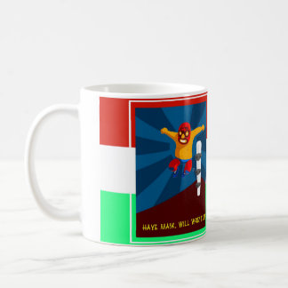 Mug Cabinet Luchador