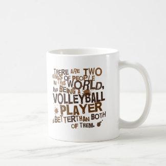 Mug Cadeau de joueur de volleyball