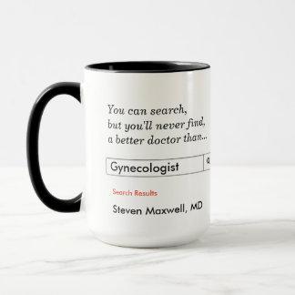 Mug Cadeau fait sur commande pour le gynécologue