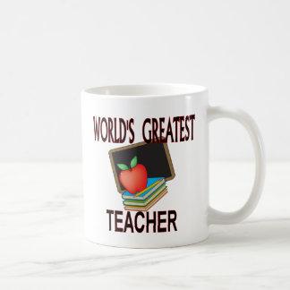 Mug Cadeaux de Noël de professeur