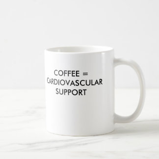MUG CAFÉ = APPUI CARDIO-VASCULAIRE