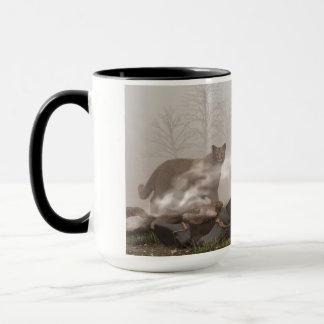 Mug Café avec un puma