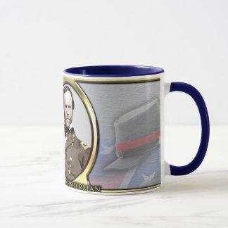 Mug Café de guerre civile de William T. Sherman