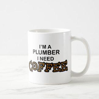 Mug Café du besoin - plombier