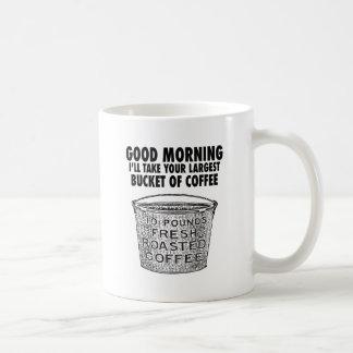 Mug Café par le seau