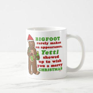 Mug Calembour drôle de Sasquatch de Joyeux Noël de