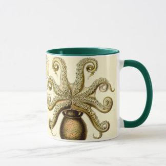 Mug Calmar vintage Gamochonia de poulpe par Ernst