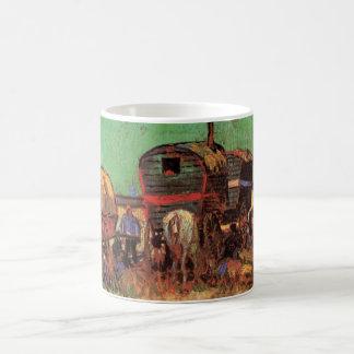 Mug Campement des caravanes de gitans par Vincent van