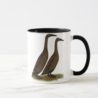 Mug Canards de coureur de chocolat