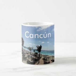 Mug Cancún (Mexique) - blanc  blanc classique de