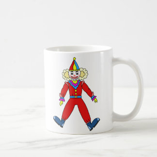 Mug Canette de céramique dessin de Clown