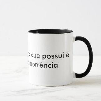 Mug Canette Essais de Mâle - Lettre
