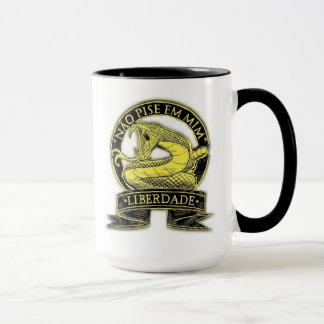 Mug Canette - Libéral - Libertaire