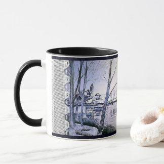Mug Canette noire et blanche - art et abstraction