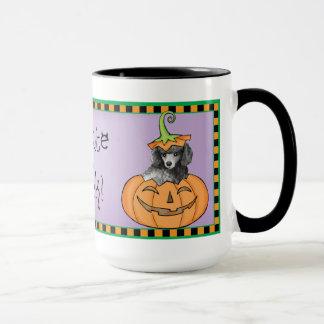 Mug Caniche miniature de Halloween
