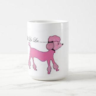 Mug Caniche rose
